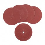 Dischi abrasivi Ø 125 mm - grana assortita - sup.230 (5 pz)