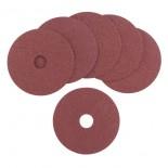 Dischi abrasivi fibrati Ø 115 mm (6 pz)