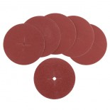 Dischi abrasivi tela Ø 125 mm - grana assortita (6 pz)