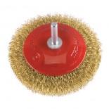 Spazzola circolare conica in acciaio Ø 90 mm