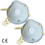 Maschera protettiva con carboni attivi FFP1 (2 pz)