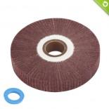 Ruota lamellare in panno abrasivo Ø 150x25 mm