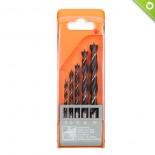 Punte per legno Ø 4-10 mm (kit 5 pz)