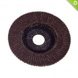 Disco lamellare in tela abrasiva Ø 115 mm - fibra