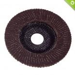 Disco lamellare in tela abrasiva Ø 180 mm - fibra