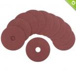 Dischi abrasivi fibrati Ø 115 mm (10 pz)