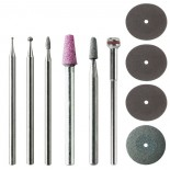 Accessori per incisioni (kit 10 pz)